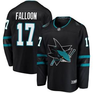 Pat Falloon San Jose Sharks Youth Fanatics Branded Black Breakaway Alternate Jersey