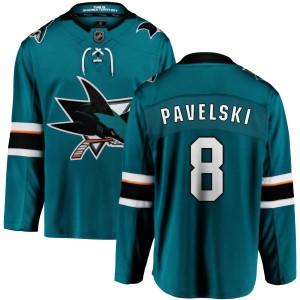 Joe Pavelski San Jose Sharks Men's Fanatics Branded Teal Home Breakaway Jersey