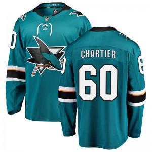 Rourke Chartier San Jose Sharks Men's Fanatics Branded Teal Breakaway Home Jersey