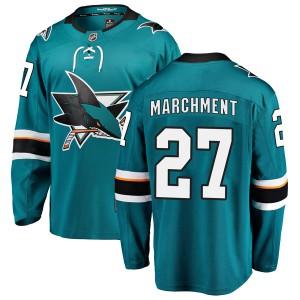Bryan Marchment San Jose Sharks Men's Fanatics Branded Teal Breakaway Home Jersey