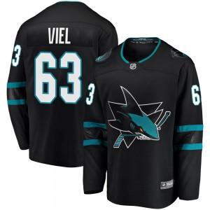 Jeffrey Viel San Jose Sharks Men's Fanatics Branded Black Breakaway Alternate Jersey