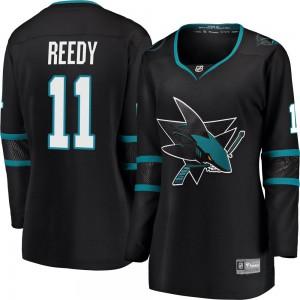 Andrew Cogliano San Jose Sharks Women's Fanatics Branded Black Breakaway Alternate Jersey