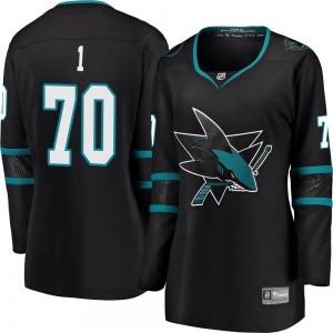 Alex True San Jose Sharks Women's Fanatics Branded Black Breakaway Alternate Jersey