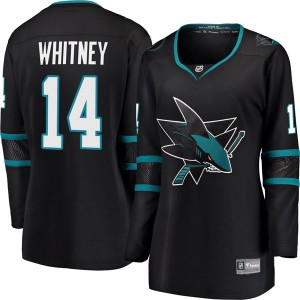 Ray Whitney San Jose Sharks Women's Fanatics Branded Black Breakaway Alternate Jersey