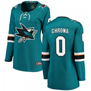 Magnus Chrona San Jose Sharks Women's Fanatics Branded Teal Breakaway Home Jersey