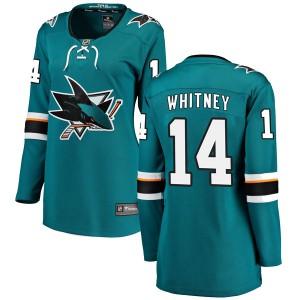 Ray Whitney San Jose Sharks Women's Fanatics Branded Teal Breakaway Home Jersey
