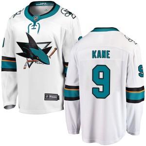Evander Kane San Jose Sharks Youth Fanatics Branded White Breakaway Away Jersey