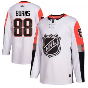 Brent Burns San Jose Sharks Men's Adidas Authentic White 2018 All-Star Pacific Division Jersey