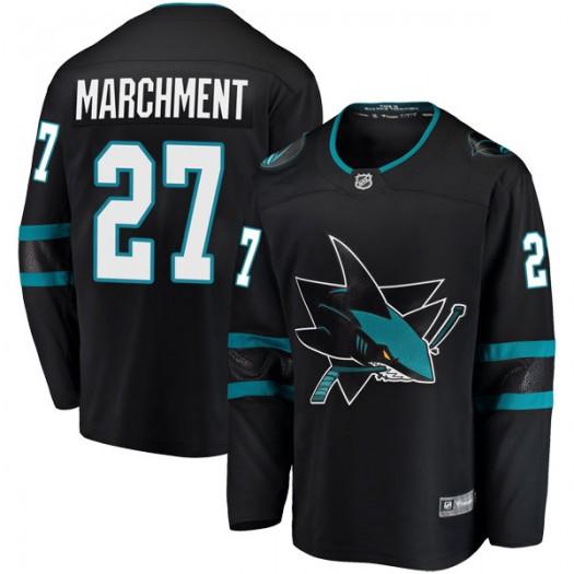 Bryan Marchment San Jose Sharks Youth Fanatics Branded Black Breakaway Alternate Jersey