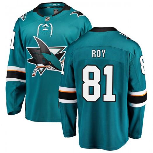Jeremy Roy San Jose Sharks Men's Fanatics Branded Teal Breakaway Home Jersey