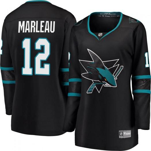 Patrick Marleau San Jose Sharks Women's Fanatics Branded Black Breakaway Alternate Jersey