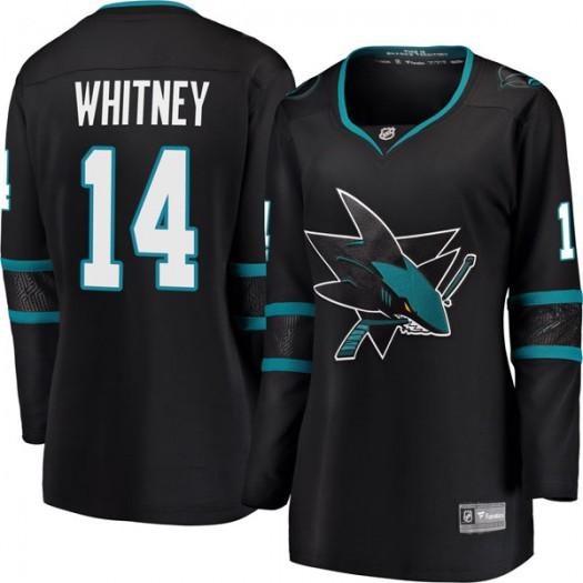 Ray Whitney San Jose Sharks Women's Fanatics Branded Black Breakaway Alternate Jersey
